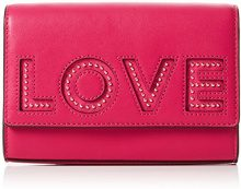 Michael Kors Ruby - Pochette da giorno Donna, Rosa (Ultra Pink), 5.5x12.5x18 cm (W x H L)