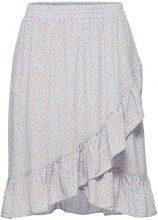 SELECTED Printed - Skirt Women Blue