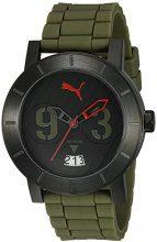 Puma Time orologio analogico da donna, al quarzo, caucciù pu103571005
