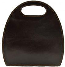Borsette Dream Leather Bags Made In Italy  Borsa Donna A Mano In Pelle, Struttura Rigida Colore Moro - Pell