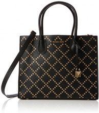 Michael Kors Mercer Tote Bag - Borse a spalla Donna, Black, 14x22x32 cm (W x H L)