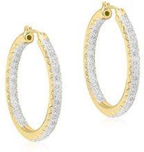 Carissima Gold - Orecchini da Donna in Oro Giallo 9K (375) con Diamante Rotonda