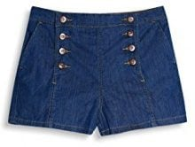 edc by Esprit 057cc1c001, Shorts Donna, Blu (Blue Medium Wash), W30 (Taglia Produttore: 30)