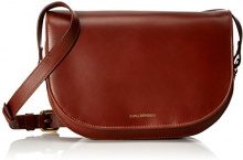 Royal RepubliQ Raf Curve Handbag, Donna Borse a spalla, Marrone (Cognac) 7x17.5x25.5 cm (B x H x T)