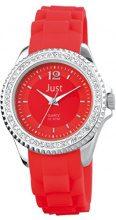 Just Watches 48-S3859-RD - Orologio da polso da donna, cinturino in caucciù colore rosso