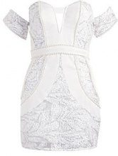 Premium Petite Lottie Plunge Front Dress