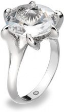 Hot Diamonds - Anello, Argento Sterling 925
