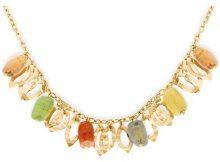 Bijoux pour tous - Collana, Pietre semi-preziose, Oro giallo 375/1000 (9 carati)