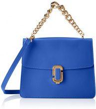 Chicca Borse 8679, Borsa a Mano Donna, Blu (Blue), 24x19x8 cm (W x H x L)