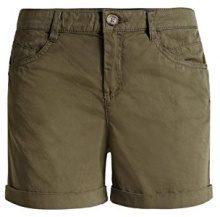 edc by Esprit 056CC1C014-5-Pocket Style, Shorts Donna, Grün (OLIVE 360), 38