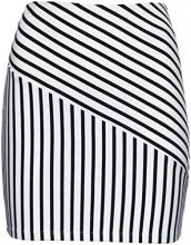 FIND Stripe Gonna Donna, Nero (Black/white Striped), 46 (Taglia Produttore: Large)