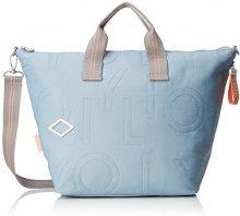 Oilily Spell Handbag Lhz - Borsa Donna, Blu (Light Blue), 18x33x51 cm (B x H T)