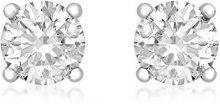 Aglaia Orecchini da Donna, Oro Bianco, 18 K (750), Diamante