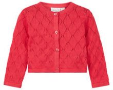 NAME IT Baby Short Knitted Cardigan Women Red
