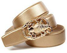 Anthoni Crown A4SKTG, Cintura Donna, Gold (Gold 016), 100