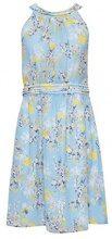 ESPRIT Collection 048eo1e022, Vestito Donna, Blu (Light Blue 440), 44