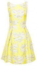 ESPRIT Collection 048eo1e031, Vestito Donna, Giallo (Yellow 750), 44