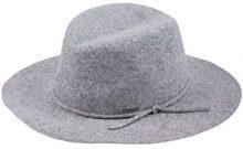 CaPO Lisabon Hat, Fedora Donna, (Grigio 5), Medium