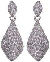 Orphelia ZO-5886 - Orecchini pendenti da donna con zirconia cubica, argento sterling 925