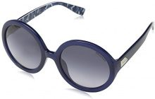 Trussardi Str014, Occhiali da Sole Donna, Grey (Shiny Opaline Blue), unica