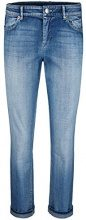 Marc Cain Additions Jeans Slim Donna, Blau (Blue Denim 353), W36