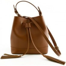 Borsa a spalla Dream Leather Bags Made In Italy  Borsa Donna A Mano In Pelle Colore Cognac - Pelletteria Toscana