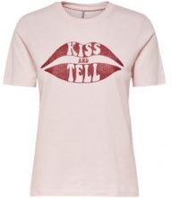 ONLY Printed T-shirt Women Pink