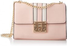 SwankySwans Marge Mini Satchel Bag - Borse a tracolla Donna, Rosa (Pink), 10x18x26 cm (W x H x L)