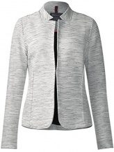 Street One Structured Sweat, Blazer Donna, Weiß (Shell White Melange 10569), 50 (Taglia produttore: 44)