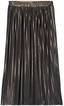 FIND Pleated Midi  Gonna Donna, Nero (Black/gold), 48 (Taglia Produttore: X-Large)