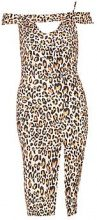 Honor Leopard Print Asymmetric Midi Dress