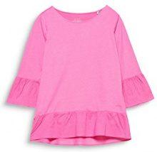 edc by Esprit 028cc1k029, Maglia a Maniche Lunghe Donna, Rosa (Pink Fuchsia 660), Small