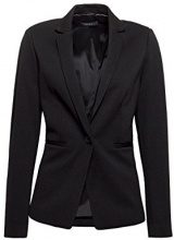 ESPRIT Collection 018eo1g003, Blazer Donna, Nero (Black 001), 42