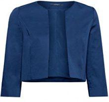 ESPRIT Collection 038eo1g012, Blazer Donna, Blu (Navy 400), 46 (Taglia Produttore: 40)