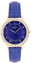 Mike Ellis New York Orologio da polso da donna Blue Line al quarzo in pelle SL5612 A1