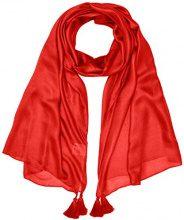 Pennyblack Tableau, Sciarpa Donna, Rosso (Red 1), Medium (Taglia produttore:M)