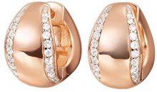 ESPRIT–Orecchini a cerchio da donna in argento Sterling 925con zirconi DANAE Elco 91730b000