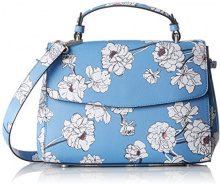 s.Oliver (Bags) 39.804.94 1/336 - Borse a spalla Donna, Blu (Blue Aop), 8x20x25 cm (B x H T)