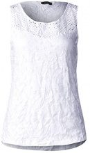 Street One 312075, Canottiera Donna, Bianco (White 10000), 50