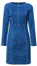 edc by Esprit 018cc1e009, Vestito Donna, Blu (Blue Medium Wash 902), X-Small