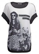 ONLCAMERA COOL GIRL - T-shirt con stampa - black