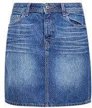 edc by Esprit 048cc1d008, Gonna Donna, Blu (Blue Medium Wash 902), 40 (Taglia Produttore: 34)