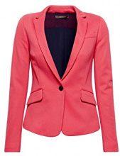 ESPRIT Collection 038eo1g002, Blazer Donna, Rosa (Pink Fuchsia 660), 42 (Taglia Produttore: 36)