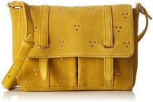 Petite Mendigote Sebaste - Borse a tracolla Donna, Giallo (Golden), 6x16x20 cm (W x H L)