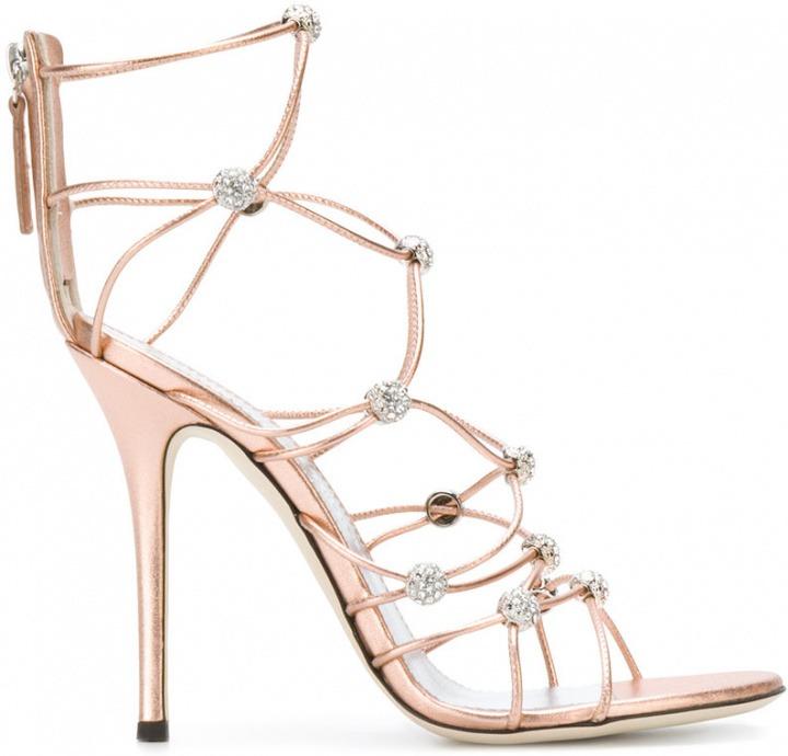 9a2cc81b0edf9 Giuseppe Zanotti Design - Sandali con tacco a stiletto alto - women ...