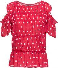 Blusa con spalle scoperte (Rosso) - BODYFLIRT