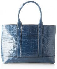 SwankySwans Audrey Faux Leather Tote Bag Wallet - Borse Donna, Blu (Navy), 12x30x34 cm (W x H x L)