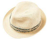 ESPRIT Accessoires 048ea1p001, Cappellopello da Sole Donna, Verde (Light Khaki 345), Small