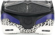 Alexander Wang - Borsa clutch - women - Stingray/Leather - OS - Blu