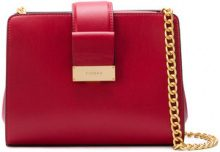 Visone - Borsa a spalla 'Margot' - women - Leather - OS - RED